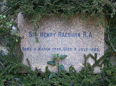 Sir Henry Raeburn  Headstone