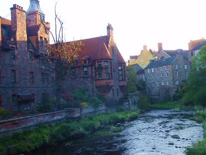 Water of Leith Dean Village Edinburgh
