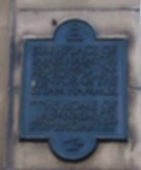 wall plaque James Nasmyth birthplace