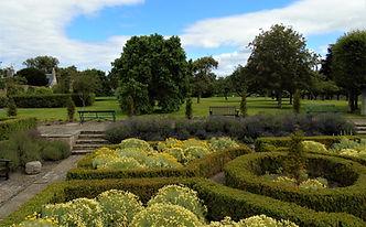 St Mary's Pleasance Garden Haddington Ea