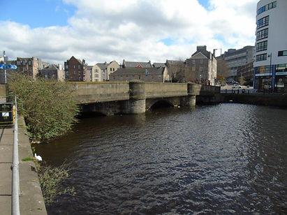 Old Leith Bridge downstream.JPG