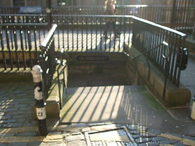 Steps to West Bow & Grassmarket