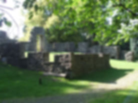CAMMO HOUSE RUINS and Nature Reserve Edinburgh