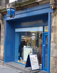 allaboutedinburgh royal mile Police information centre high street edinburgh