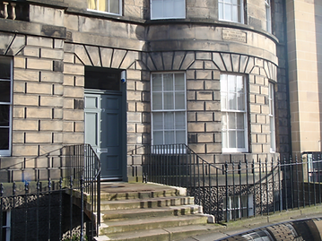 Sir Walter Scott House in Castle Street Edinburgh