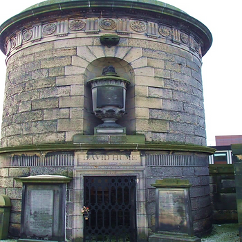 David Hume's Tomb Old Calton Graveyard Edinburgh