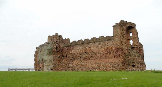 Tantallon Castle Auldhame East Lothian