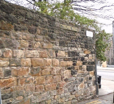 Telfer wall lauriston place and Vennal access to Grassmarket