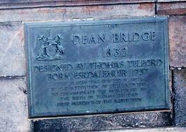 Dean Bridge Commemrative Stone