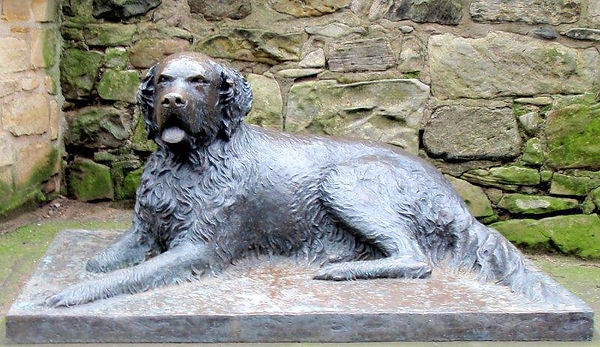 Bum the Dog Statue West Princes Street Gardens King's Stables Road Edinburgh