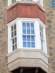 James Stuart Blackie window Blackie House