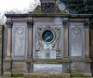 James Hamilton Dean Cemetery Edinburgh