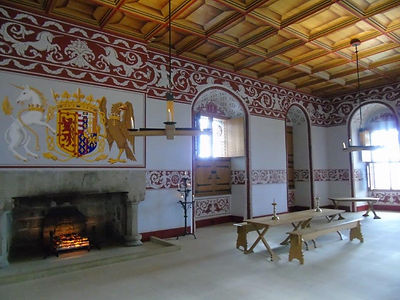 Queens Outer Hall Stirling Castle Royal