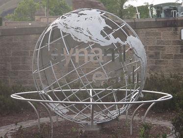 Dynamic Earth Ball Holyrood Gait Edinbur
