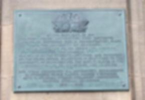 University of Edinburgh Medical School Polish memorial plaque