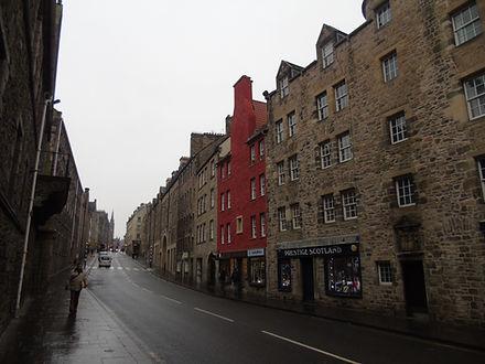 Canongate  Royal Mile Edinburgh