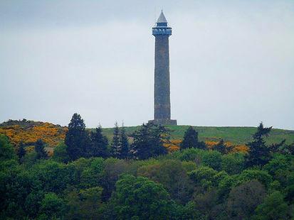 Waterloo Monument Ancrum Scottish Border