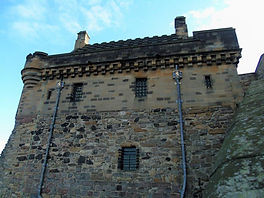 Argyle Tower Edinburgh Castle  above Portcullis Gate