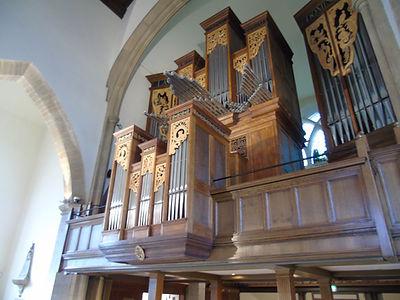 Greyfriar Kirk Kirk Organ Grayfriars Edinburgh
