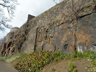Old City Wall Stirling Tour Scotland