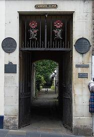 Panmure Close Canongate Edinburgh