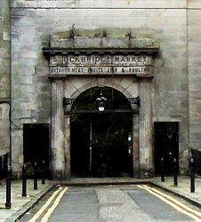 Stockbridge Market Edinburgh