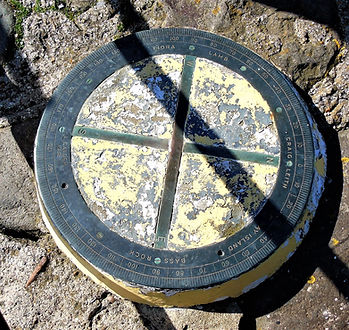 Compass and Islands  North Berwick Harbo