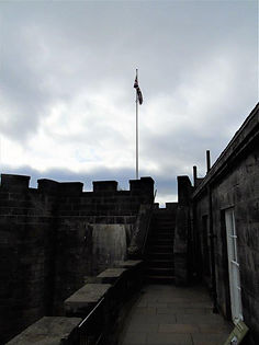 Stirling Castle Forework Top of Gate House