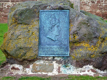 Catherine Watson Memorial Plaque North Berwick East Lothian