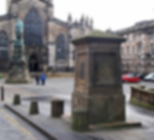Lawnmarket wellhead royal mile Edinburgh