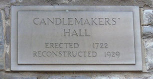 Candlemakers' Hall Plaque