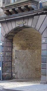 Sugarhouse Close Canongate Royal Mile Ed