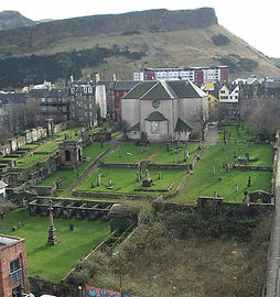 Canongate Kirk Burial Ground Canongate E