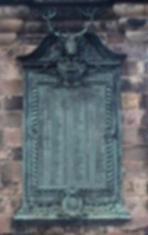 Edinburgh Castle Esplanade Gordon HighlandersBronze Plaque