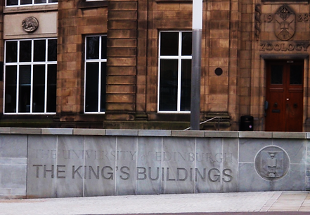 University of Edinburgh King's Buildings Edinburgh