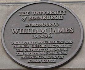 Medallion Edinburgh University Old College William James