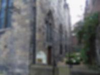 Trinity Apse Church Nor Loch now Chalmer's Close High Street Royal Mile Edinburgh