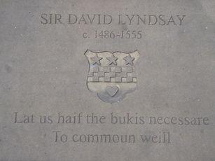 SIR DAVID LYNDSAY