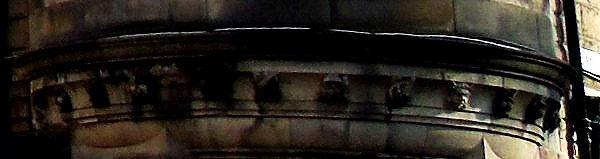 Carved Heads Edinburgh Medical Missionar