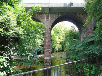 Colinton Village Bridge over the Water of Leith