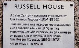 royal mile canongate edinburgh russell h