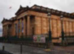 Nationallgallery of Scotland on the Mound Edinburgh