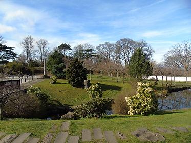 Japanese Garden Lauriston Castle Edinbur