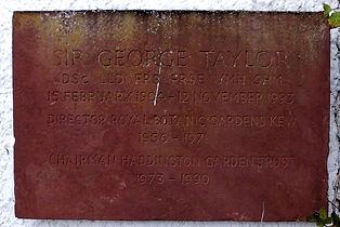 Sir George Taylor Haddington House Gardens East Lothian