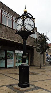 Tranent Clock Civic Square Tranent East