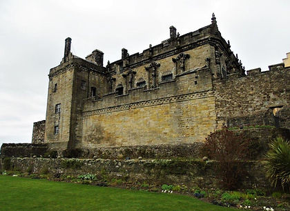 Stirling Castle Palace from Queen Anne G