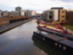 Union Canal Basin Fountainbridge Edinburgh