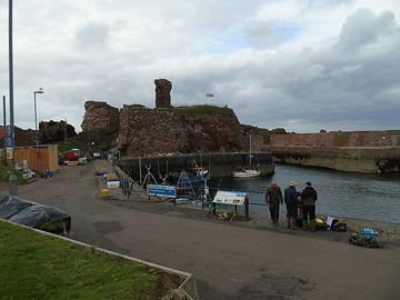 Dunbar Castle Ruins Battle of Dunbar