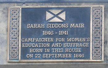 Sarah Siddons Mair Abercrombie Place Edi