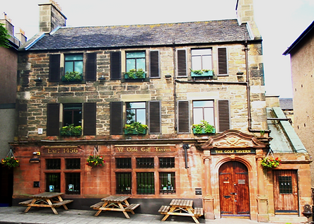 Ye Old Golf Tavern first ever Golf Club House established 1456